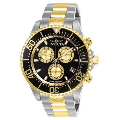 Invicta Pro Diver Mens Two Tone Bracelet Watch-26850