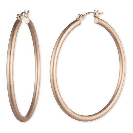 Chaps 1 Pair Hoop Earrings