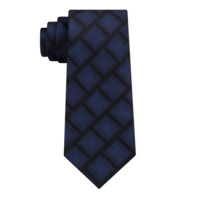 Van Heusen Chrome Grid Tie