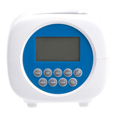Discovery Kids Projection Alarm Clock Sound Machine