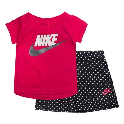 Nike Nike Baby Su18 Sets 2-pack Short Set Girls