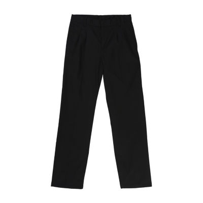 French Toast Relaxed Fit Pleated Pant- Boys Husky