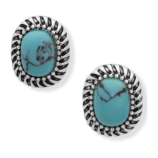 Chaps 13.5mm Stud Earrings