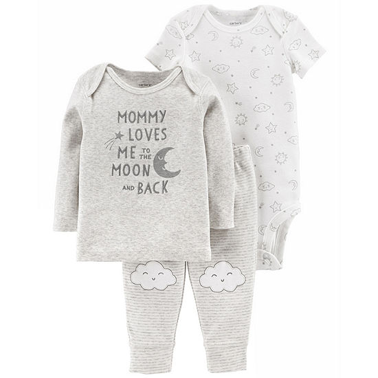Carters 3 Pc Baby Clothing Set Baby Unisex