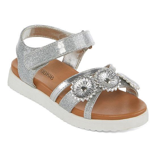 Okie Dokie Toddler Girls Strap Sandals