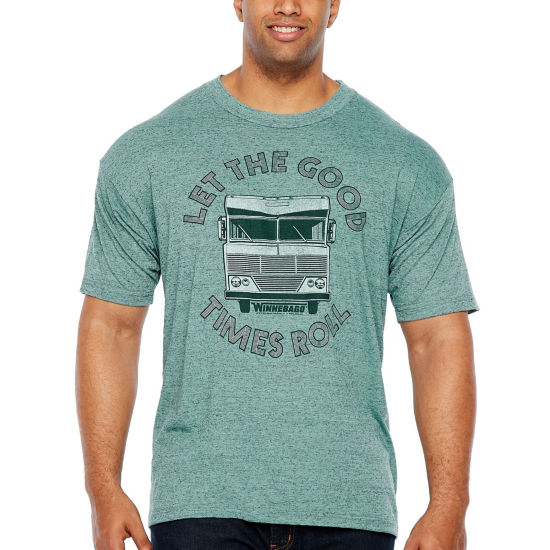 Winnebago Good Times Roll Short Sleeve Graphic T-Shirt-Big and Tall