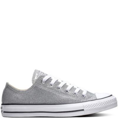 Converse CTAS OX Womens Glitter Sneakers