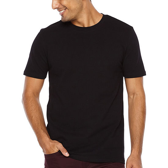 JF J.Ferrar-Slim Mens Crew Neck Short Sleeve T-Shirt