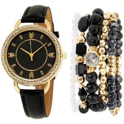 Womens Black Bracelet Watch-St2159g689-003
