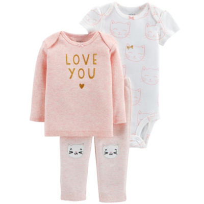 Carter's Little Baby Basics 3-pc. Layette Set - Girls