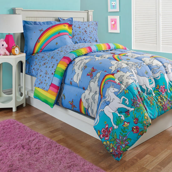 Kidz Mix Unicorn Reversible Bed in a Bag