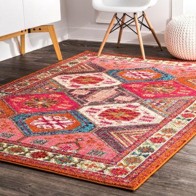 nuLoom Vintage Tiles Cornelius Area Rug