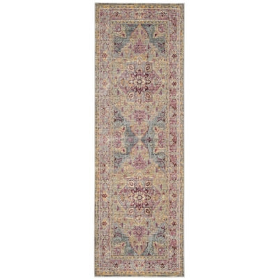 Safavieh Claremont Collection Justine Oriental Runner Rug