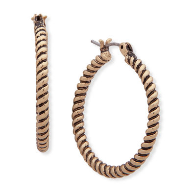 Chaps 21.6mm Hoop Earrings