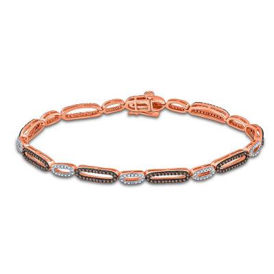 10K Gold Solid Link Bracelet
