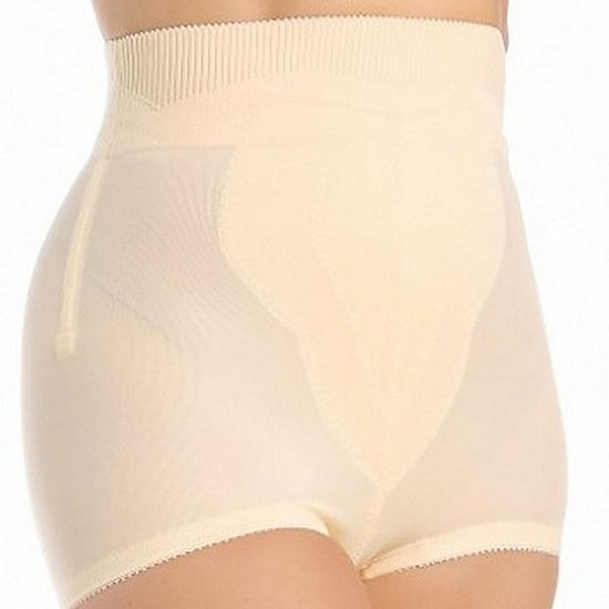 Rago Plus High-Waist Tulip Panel Moderate Control Control Briefs 6296p