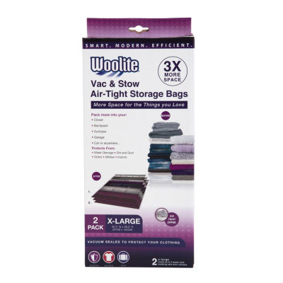 "2 Piece XL Vacuum Storage Bags 26.5"" X 39*.5"