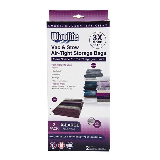 "2 Piece XL Vacuum Storage Bags 26.5"" X 39*.5"