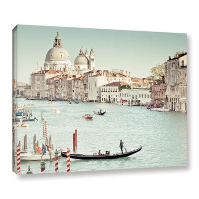 Grand Canal Gallery Wrapped Canvas