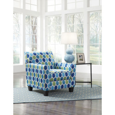 Signature Design By Ashley® Ayanna Nuvella Geo Accent Chair