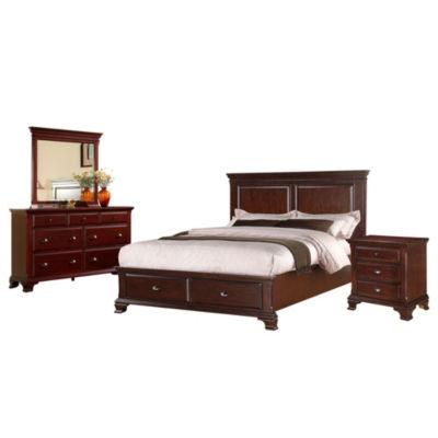 Picket House Furnishings Brinley Storage 4-pc. Bedroom Set