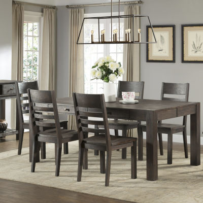 Salem 7 PC Counter Height Farm Dining Set