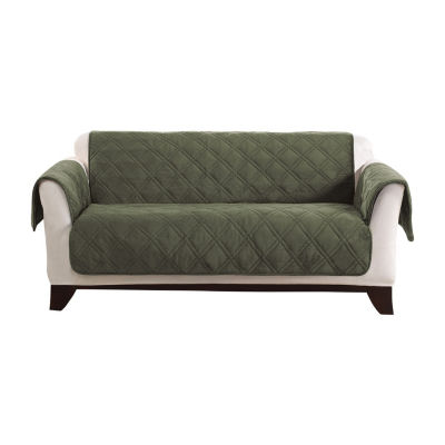 Sure Fit Triple Protection Furniture Protector Loveseat Slipcover
