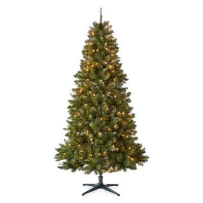 North Pole Trading Co. 6 1/2 Foot Colorado Pre-Lit Christmas Tree