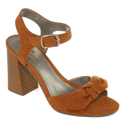 Worthington Bracken Womens Heeled Sandals