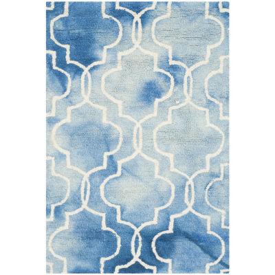 Safavieh Dip Dye Collection Serafim Geometric AreaRug