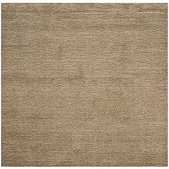 Safavieh Himalaya Collection Letters Solid SquareArea Rug