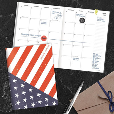 Tf Publishing July 2018 - June 2019 America Monthly Planner