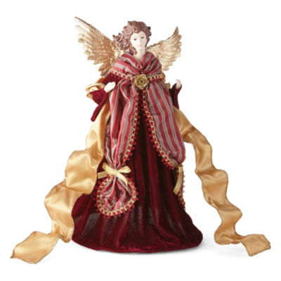 North Pole Trading Co. 16.5 Inch Traditional Angel Tree Topper