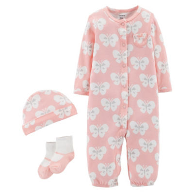 Carter's Little Baby Basics 4-pc. Layette Set-Baby Girls