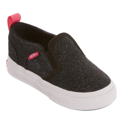 Vans Asher Girls Skate Shoes Slip-on - Toddler