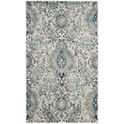 Safavieh Madison Collection Baldric Floral Area Rug
