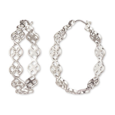 Chaps 35.1mm Hoop Earrings