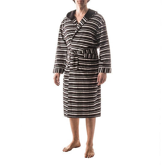 Residence Striped Hooded Robe - Tall
