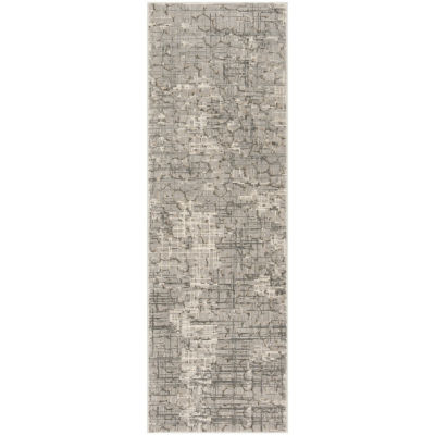 Safavieh Meadow Collection Samuel Abstract RunnerRug