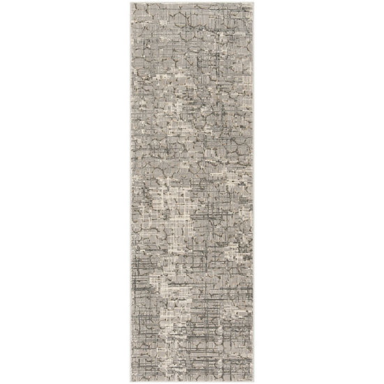 Safavieh Meadow Collection Samuel Abstract Runner Rug