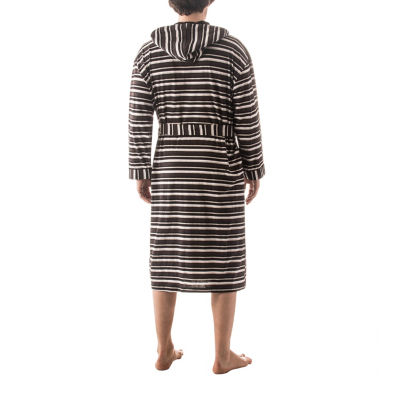 Residence Striped Hooded Robe - Big