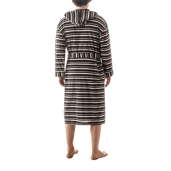 Residence Striped Hooded Robe Big and Tall JCPenney 2ce510b86