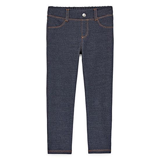 Okie Dokie Girls Pull-On Pants - Toddler
