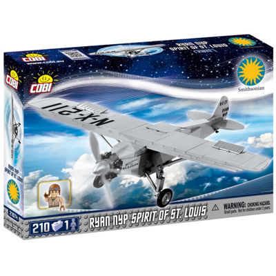 Cobi Smithsonian Ryan Nyp Spirit Of St. Louis Plane 210 Piece Construction Blocks Building Kit