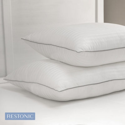 Restonic Memory Fiber Pillow with Tencel Lyocell Cover