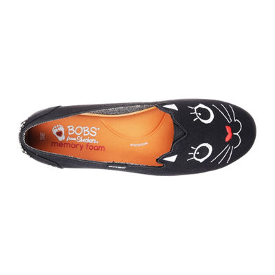 Skechers Bobs Plush Womens Walking Shoes Slip-on