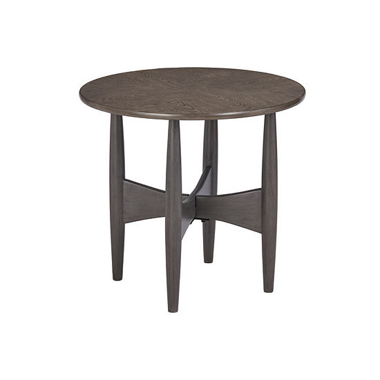 Ink+Ivy Ellipse End Table