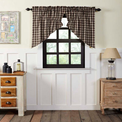 Farmhouse Window Rory Prairie Swag Pair