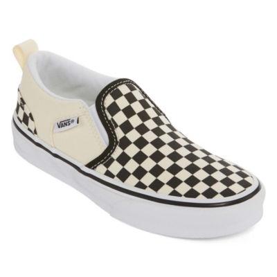 Vans Asher Boys Skate Shoes Pull-on