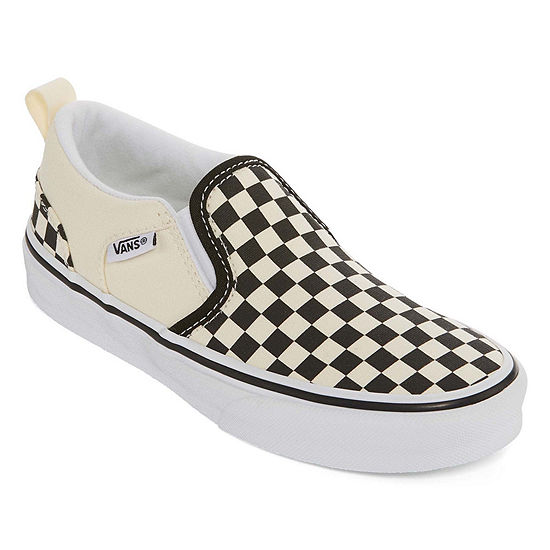 Vans Asher Unisex Kids Skate Shoes Pull-on - Big Kids